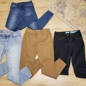 Pacsun tj Maxx skinny jean bundle size 5